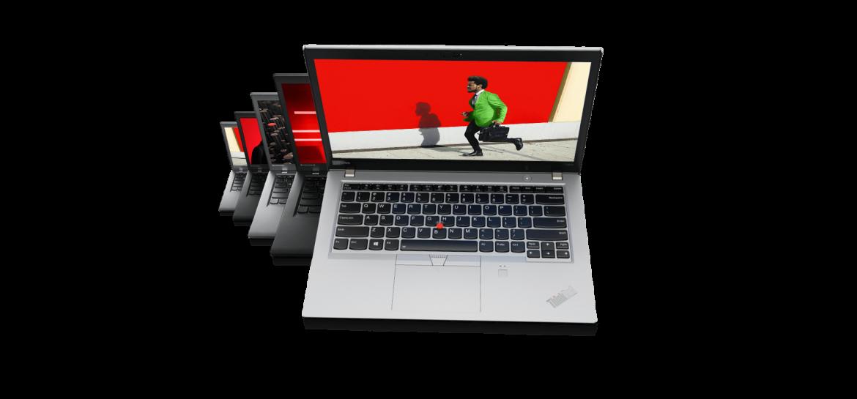 Szukając mocnego komputera, który ma dobre parametry, trafiliśmy na model T490 z serii ThinkPad od firmy Lenovo